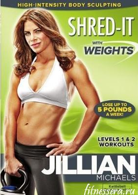 "Jillian Michaels ""Shred-It with Weights"
