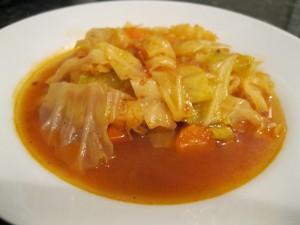 Капустный жиросжигающий суп