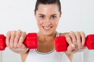 Упражнения с гантелямиотягощениями