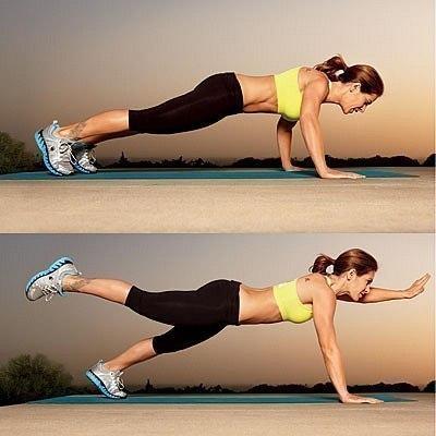Джиллиан Майклс, 5 упражнений на каждый день