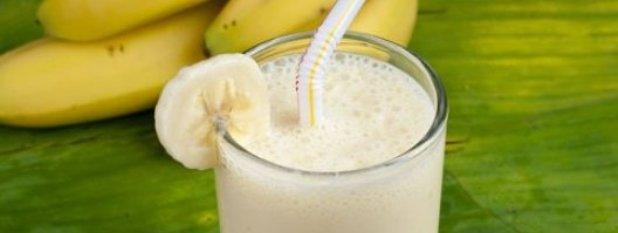 Банановый коктейль для мышц
