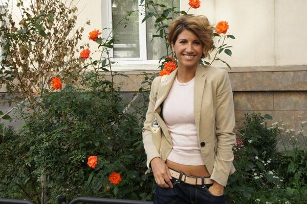 Анита Луценко. прическа - фото