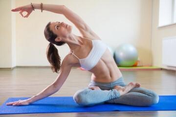 Калланетика для начинающих - упражнения для похудения в домашних условиях
