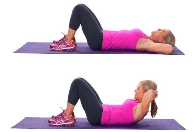Упражнения для сжигания жира с ног попы