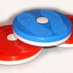 Упражнения для талии с диском типа «Грация» или «Здоровье»