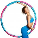 Интересные упражнения с хулахупом для похудения
