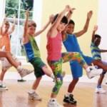Фитнес для детей от Дениз Остин.