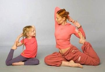 Фитнес для детей и родителей
