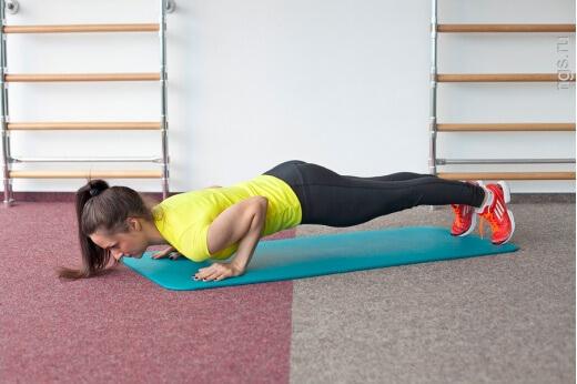 Фитнес дома упражнения видео для похудения для начинающих для живота