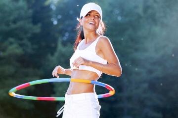 видео как убрать жир над коленками упражнения
