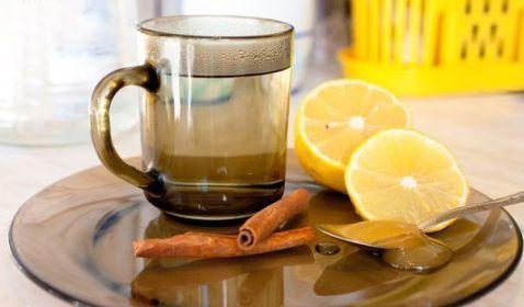 корица, мед, имбирь, лимон
