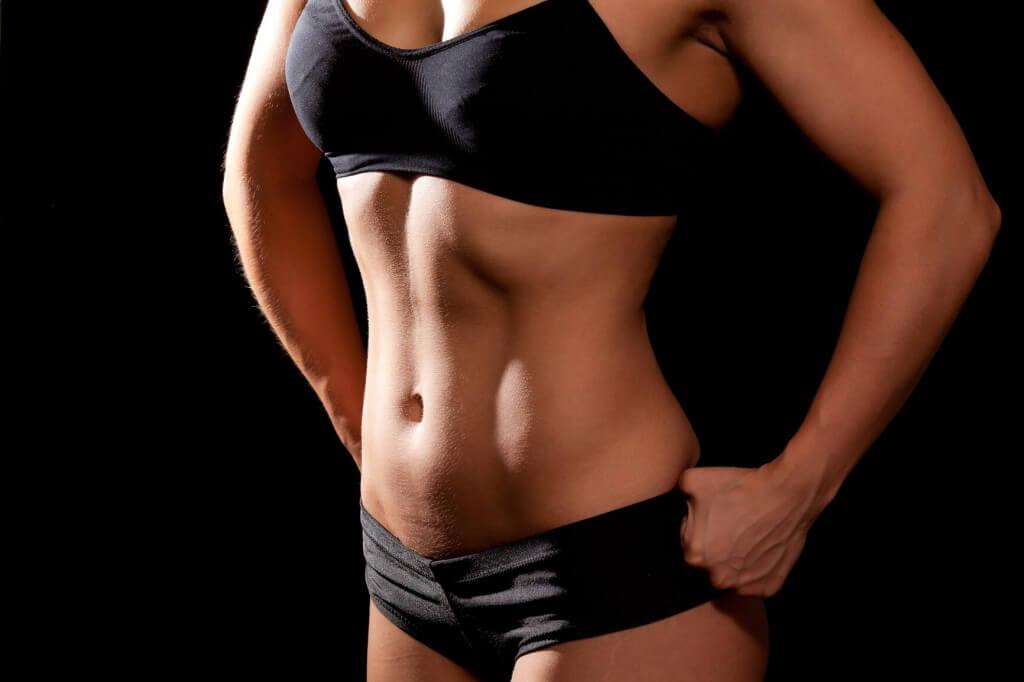 Движения похудения живота женщине