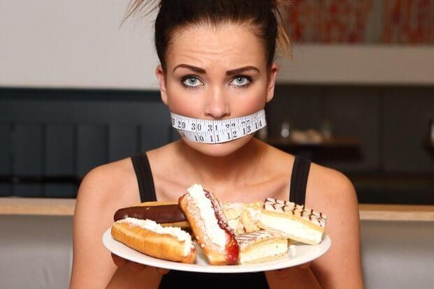 перестать есть сладкое