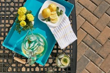 Вода с лимоном и мятой для похудения