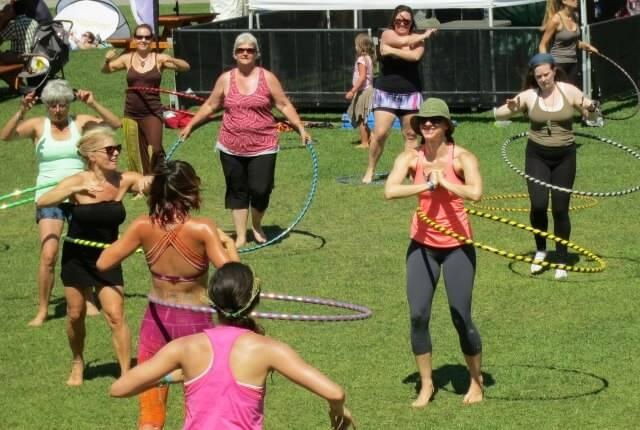 упражнения для похудения живота с хулахупом