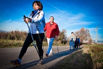 Скандинавская ходьба с палками - как правильно ходить, техника для начинающих, польза нордической ходьбы для здоровья