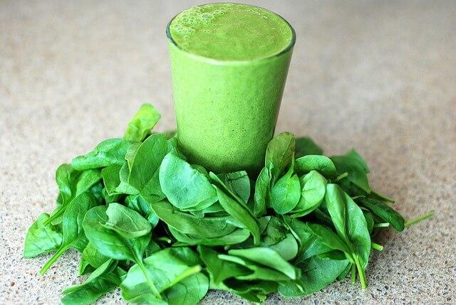 смузи для похудения со шпинатом