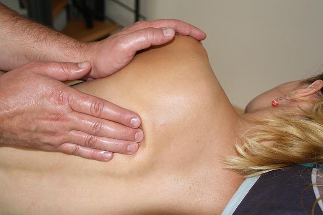 массаж для сжигания жира на животе видео