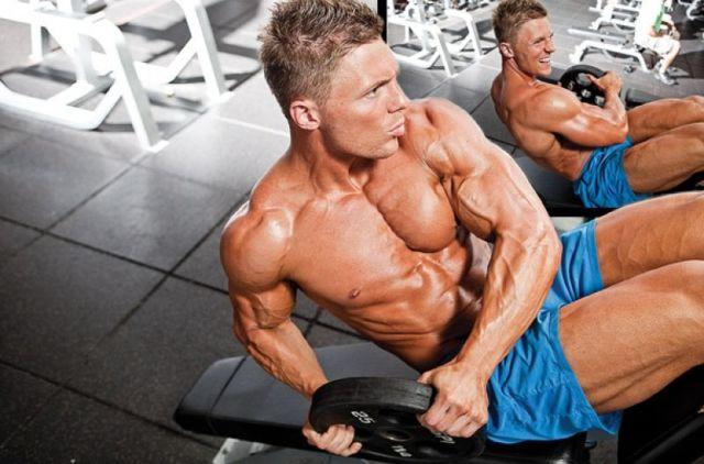 накачать косые мышцы мужчине