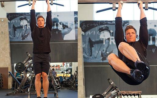 Боковые мышцы пресса упражнения на турнике