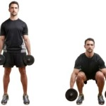 Схема приседаний для мужчин для домашних тренировок ног