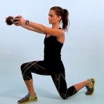 Выпады назад: техника выполнения, разновидности, польза упражнения