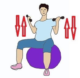 Упражнение для беременных 3 триместр в домашних условиях в картинках 16