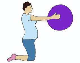 Зарядка для беременных (1, 2, 3 триместр) в домашних условиях