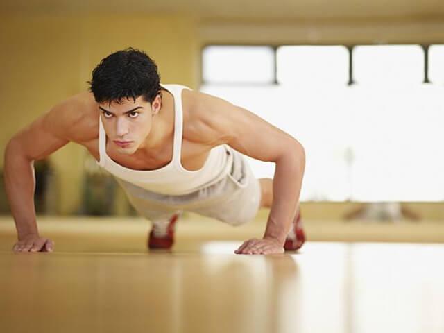 Комплекс отжиманий для грудных мышц