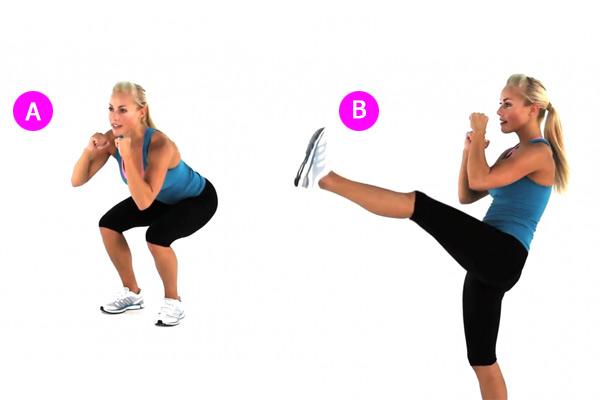 Упражнения для похудения ног с внутренней стороны