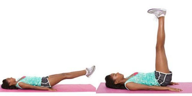 как убрать жир с ног упражнениями