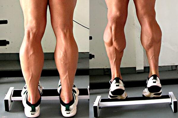Как сделать себе икры на ногах