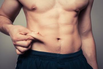 Мужская диета для сжигания жира на животе и боках