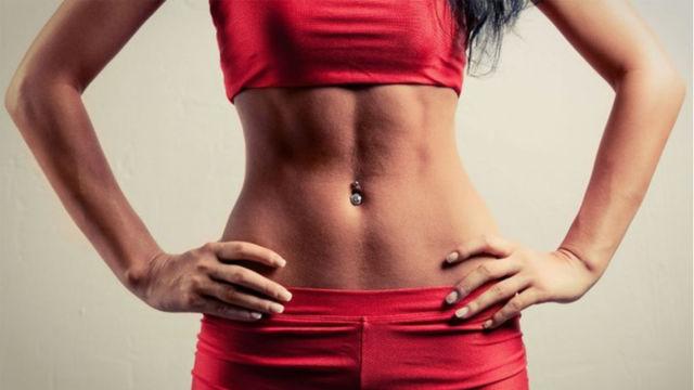 массаж убрать жир с боков живота