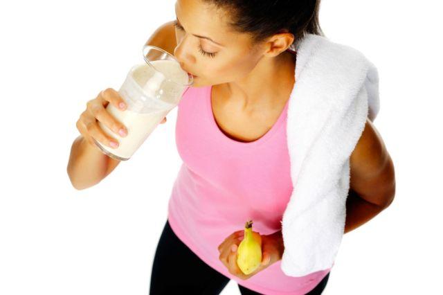 Какое молоко пить после тренировки