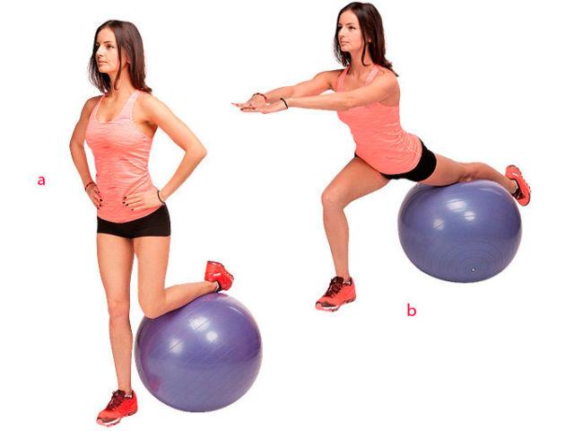 Комплекс упражнений на фитболе для похудения - занятия в радость!