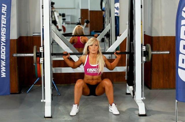 Программа тренировок для ягодиц - комплексы упражнений для тренажерного зала