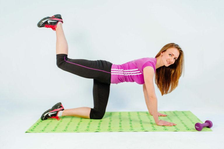 комплекс упражнений для похудения 12 лет