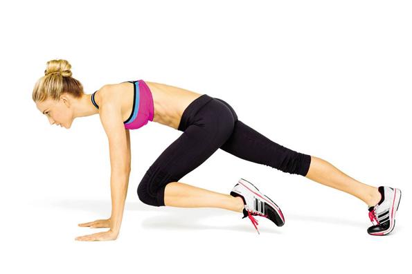 Жиросжигающая тренировка без оборудования по системе табата - и пусть мышцы горят