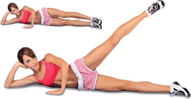 Упражнения для похудения ляшек с анитой луценко