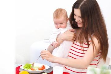 Диета для кормящих матерей для похудения примерное меню