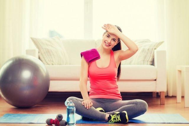 Худеем дома фитнес для начинающих