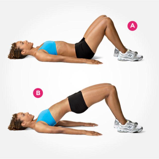 Польза ягодичного мостика + техника выполнения упражнения для лучшего эффекта