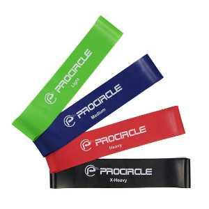 Выбираем резинки для фитнеса: размеры, цвета, жесткость