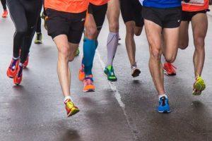 Спортивные компрессионные чулки повышают выносливость спортсменок
