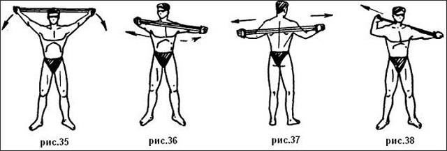 Упражнения с пружинным эспандером для мужчин: качаем грудные мышцы и плечевой пояс