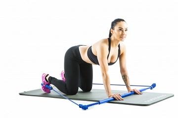 Комплекс упражнений с гимнастической палкой для позвоночника при остеохондрозе и осанки