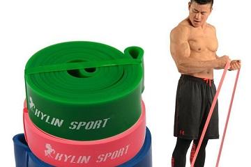 Комплекс упражнений с резиновой лентой на все тело