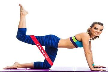 Упражнения с эластичной лентой для женщин в домашних условиях для живота, пресса, спины, похудения. Пошаговые уроки с фото