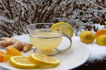 Чудный напиток с имбирем и лимоном для похудения приготовить несложно